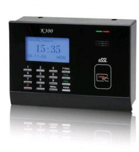 Card based time and attendance machine K300