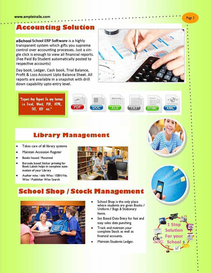School Software For Finance