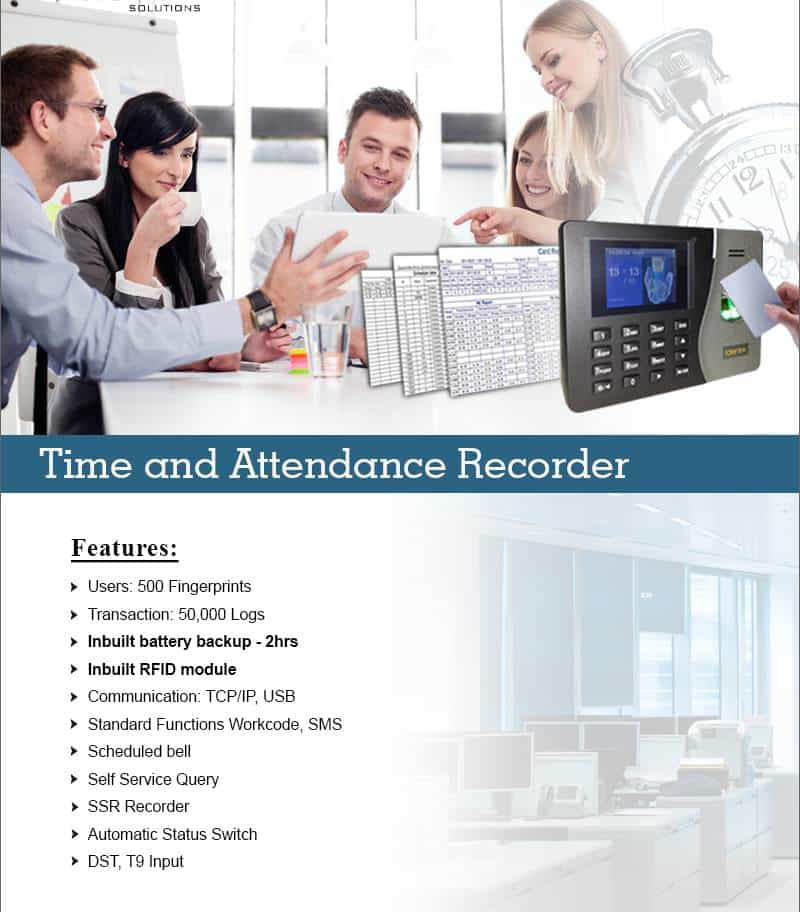 Time Attendance Record machine