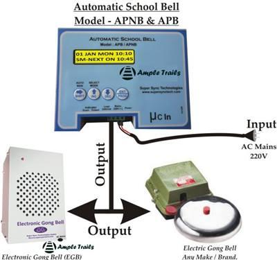 School Automatic Bell System APB