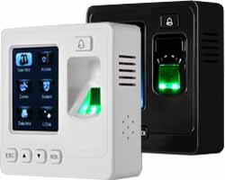 SF-100 sleek attendance device with access control