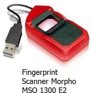 Fingerprint Scanner Morpho MSO 1300 E2