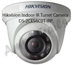 Hikvision night vision Indoor IR Turret Camera DS-2CE56C0T-IRP