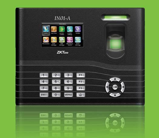 Biometric Fingerprint Time Attendance Access Control IN01 ZKTeco
