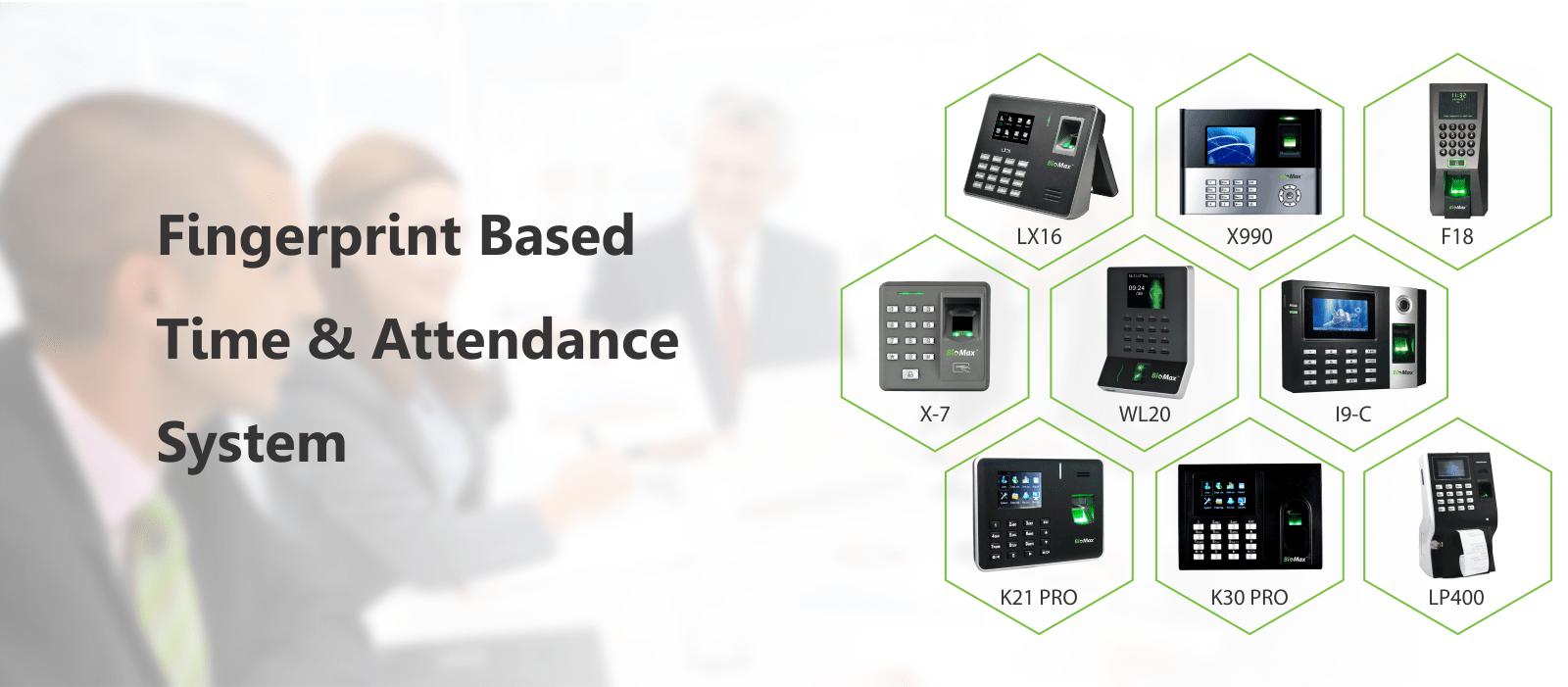 Fingerprint Based Time & Attendance System