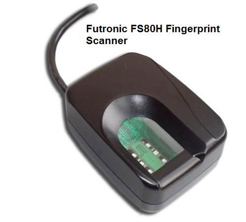 Futronic FS80H Fingerprint Scanner