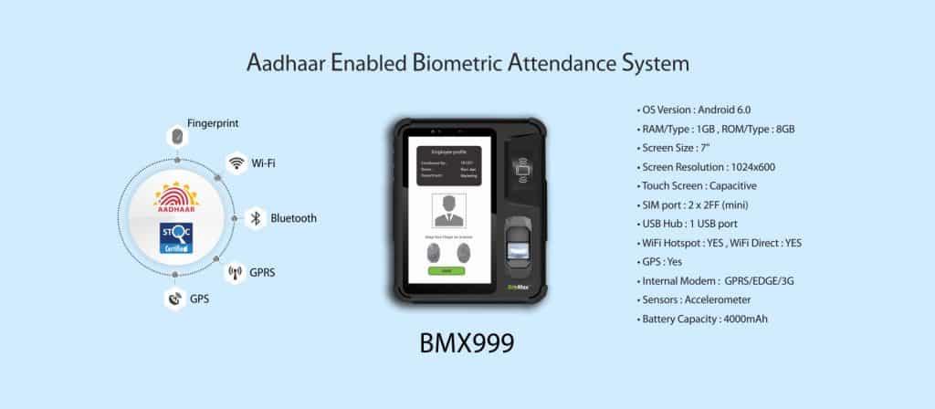 Aadhaar Enabled Biometric Attendance System Suppliers