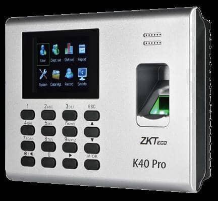 ZKTeco K40 Fingerprint Biometric System Price, Specification & Features
