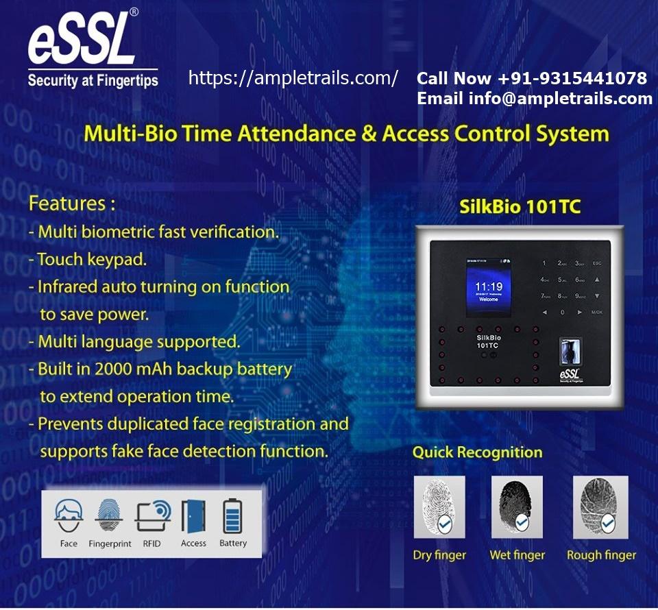 eSSL SilkBio Face Attendance Machine