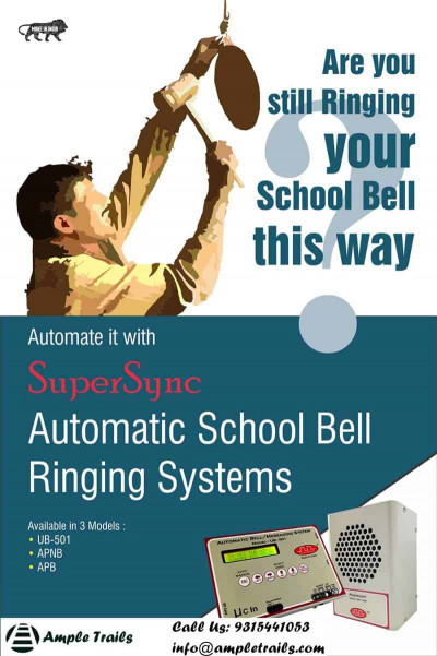 Automatic School Bell Multiple Sound