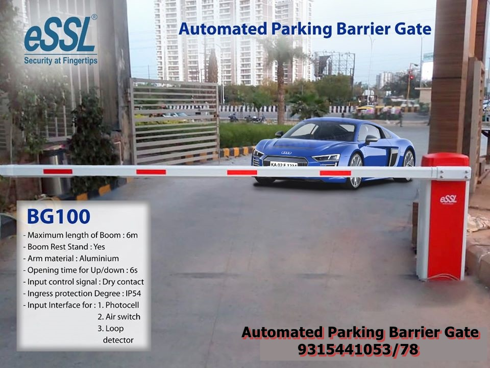 Automated Parking Barrier gates