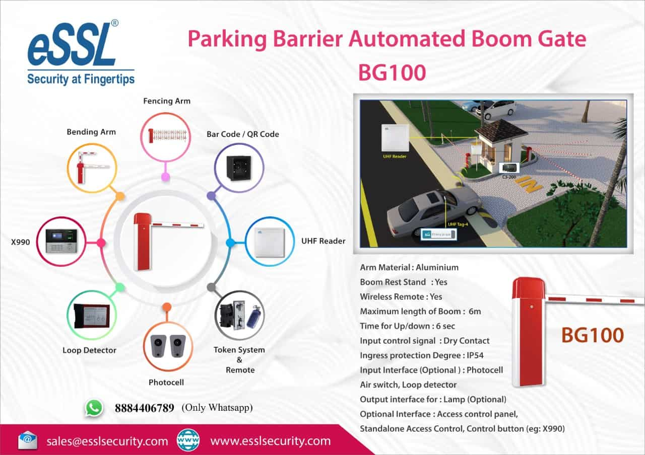 Most Secure Boom Gate System Parking Barrier