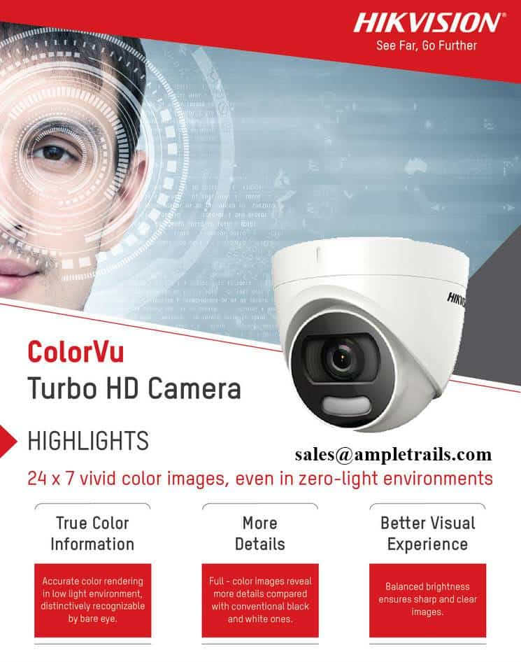 Hikvision's ColorVu Turbo HD Camera