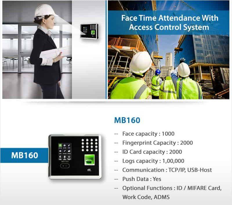Face Attendance Machine eSSL MB160