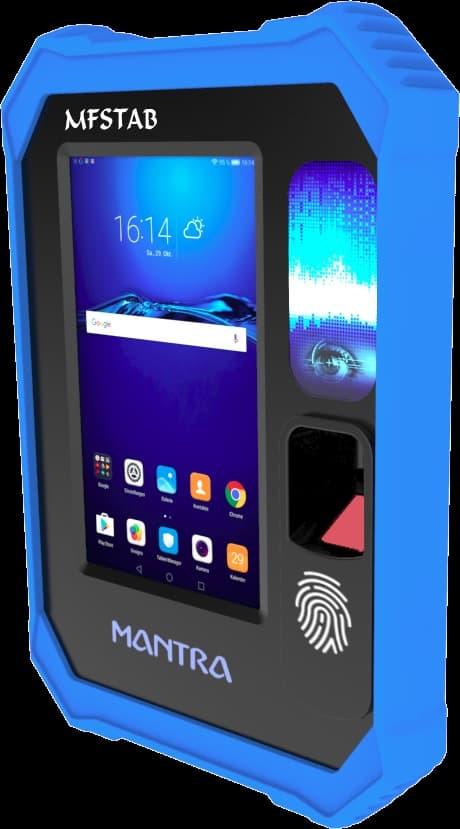 Mantra Aadhar Biometric Machine MFS Tab