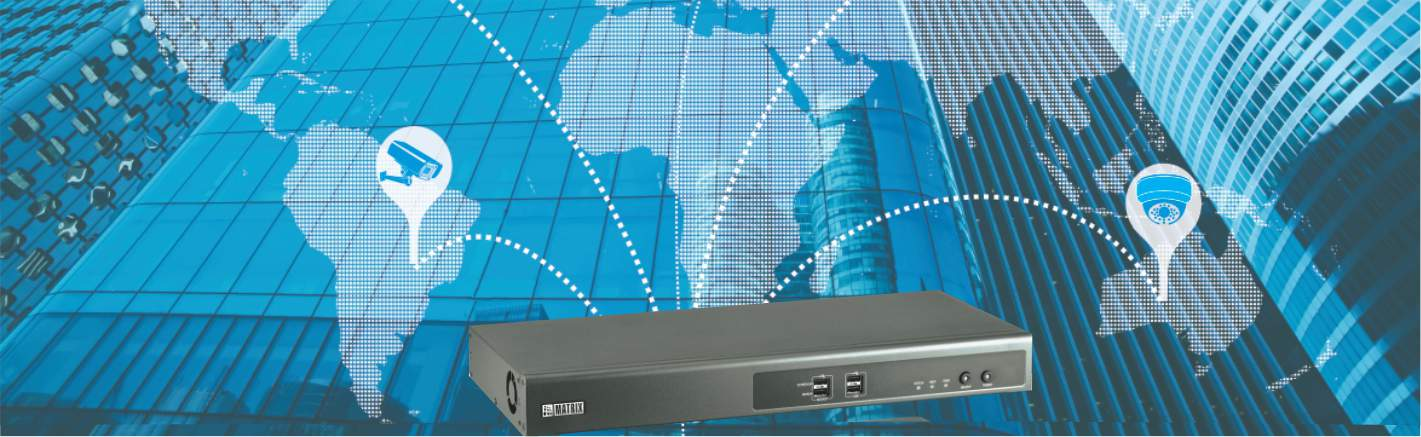 NVR Recorder for IP Cameras