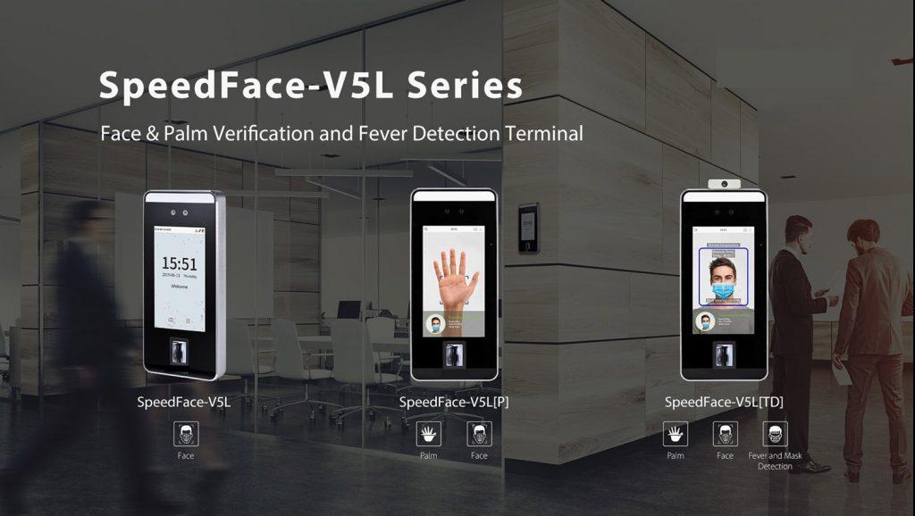 Face Palm Verification Fever Detection Machine