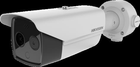 Thermographic Bullet Body Temperature Measurement Camera